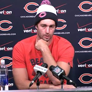 Chicago Bears quarterback Jay Cutler on Brandon Marshall: 'I understand his frustration'