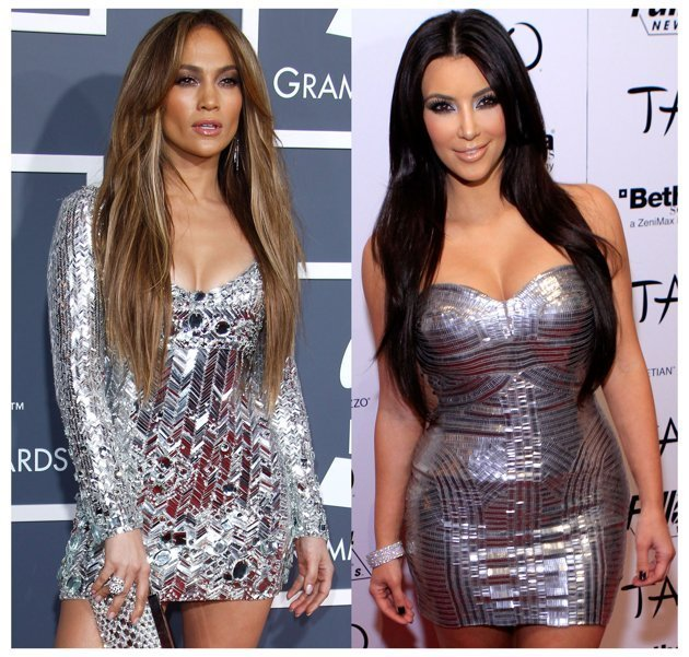 Jennifer Lopez vs Kim Kar …
