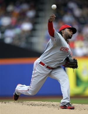 Phillips, Cueto & Reds top Mets for 6th win in row