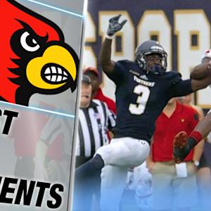 Louisville's James Quick Tiptoes Sideline for Long TD | ACC Must See Moment