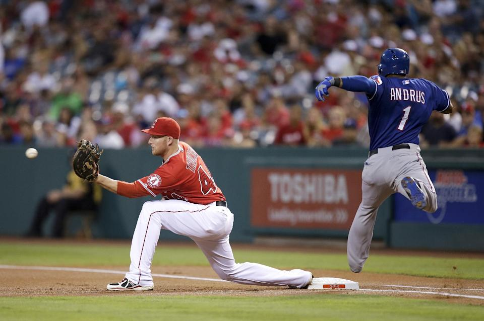 Trumbo, Wilson lead LA Angels past Texas 6-5