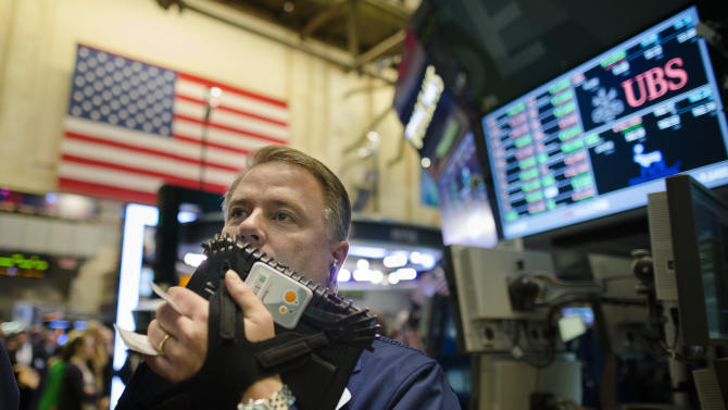 Stock market edges up a day ahead of election