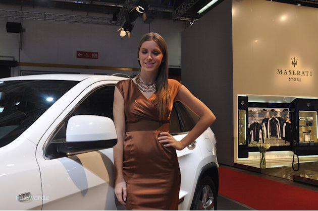 Miss al MotorShow di Bologna