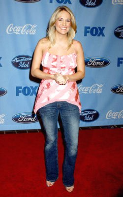 Finalist Carrie Underwood American Idol Top 12 Finalists Party West Hollywood, CA - 3/9/05 Carrie Underwood
