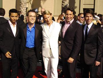 Jai Rodriguez, Ted Allen, Carson Kressley, Thom Filicia and Kyan Douglas 2004 Emmy Creative Arts Awards Arrivals - 9/12/2004 Kyan Douglas