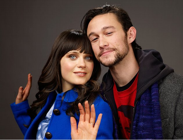 Sundance Film Festival 2009 Portraits Zooey Deschanel Joseph Gordon Levitt