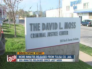 More inmates released from Tulsa county jail (6pm Report)