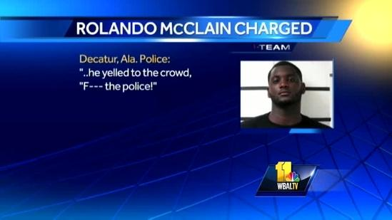 Newly signed Raven arrested in Alabama