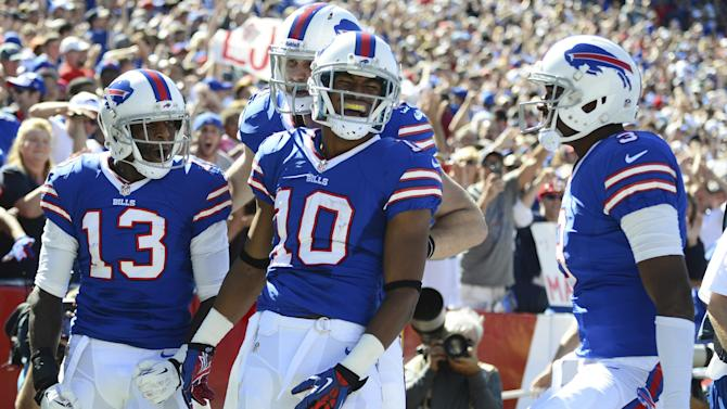 Bills WR Johnson takes blame for dropped pass