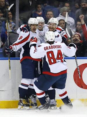 Capitals sink Islanders 3-2 in OT
