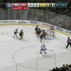 Tuukka Rask Save on Alex Galchenyuk (19:36/2nd)