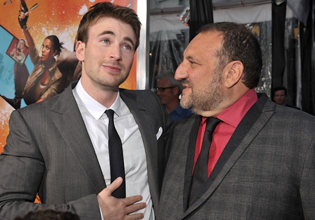The Losers LA Premiere 2010 Chris Evans Joel Silver