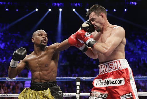 Mayweather again top-earning US athlete on SI list