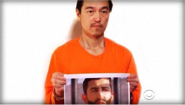 ISIS hostage sends new warning message