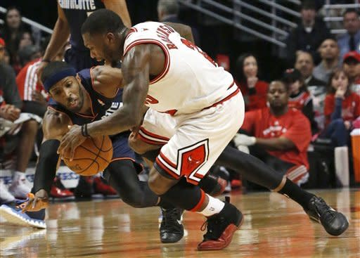 Bobcats end 18-game skid with 91-81 win over Bulls
