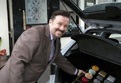 Ricky Gervais | Photo Credits: Comic Relief