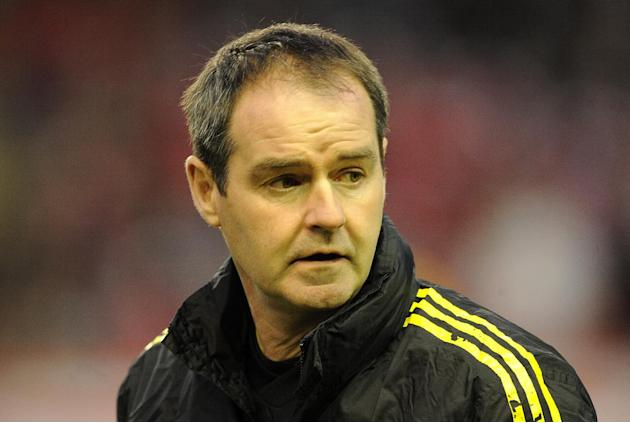 Steve Clarke is looking forward to managing West Brom against Liverpool
