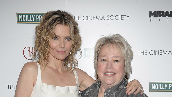 Cheri NY Screening 2009 Michelle Pfeiffer Kathy Bates