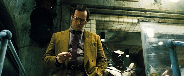 Watchmen Production Stills Warner Bros. 2009 Patrick Wilson