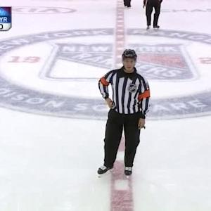 Sharks at Rangers / Game Highlights
