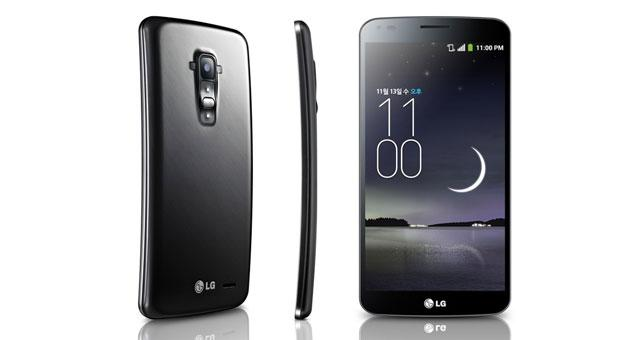 LG G Flex announced with 6inch 720p screen takes a different angle on the curved smartphone