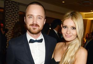 Aaron Paul, Lauren Parsekian | Photo Credits: Jeff Kravitz/FilmMagic
