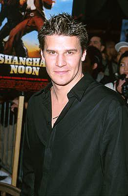 David Boreanaz at the Hollywood premiere of Touchstone's Shanghai Noon