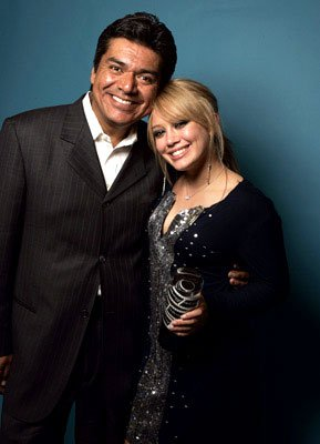 George Lopez and Hilary Duff Movieline Young Hollywood Awards - 5/2/2004