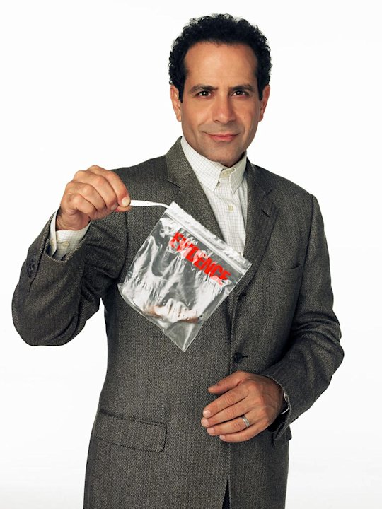 Tony Shalhoub as Adrian Monk in f&quot;Monk.&quot; 