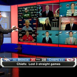 What does the losing streak mean for the Kansas City Chiefs?