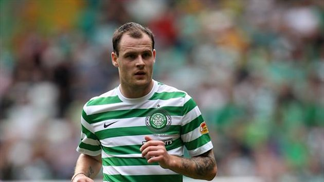 Anthony Stokes recently returned to action for Celtic following an ankle injury