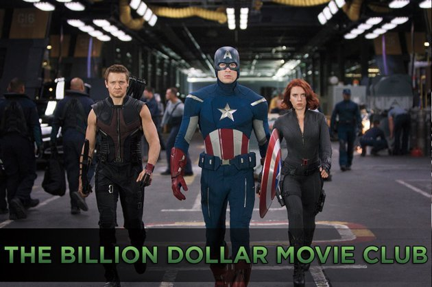 Avengers Billion Dollars