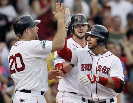 Ortiz hits grand slam as Red Sox top Marlins 15-5