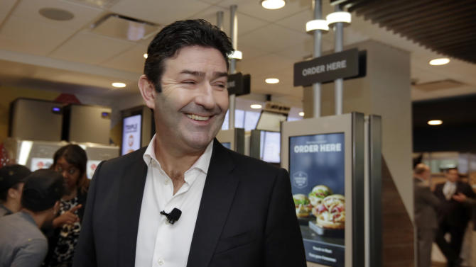 McDonald's CEO: Chain still plans to expand in the US again