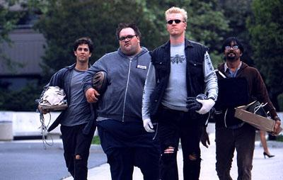 Adam Garcia , Ethan Suplee , Jake Busey and Anjul Nigam in 20th Century Fox's The First $20 Million Is Always The Hardest