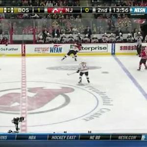 Matt Bartkowski Hit on Scott Gomez (06:06/2nd)