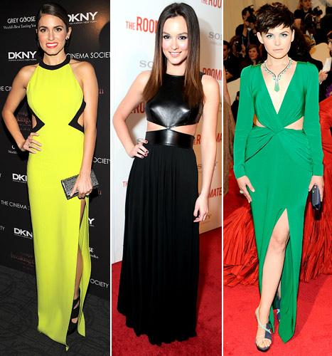 Best of 2011: Which Star Looked Hottest in a Cut-Out Dress?