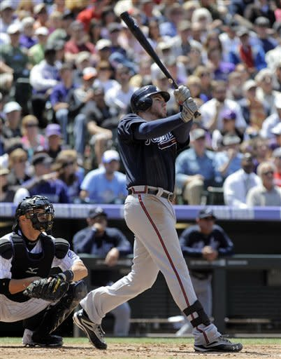 Braves complete sweep with 7-2 win over Rockies