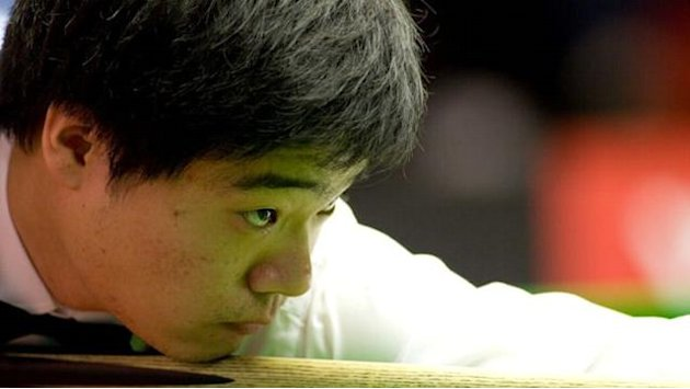 Snooker - Ding through after three centuries in Ireland