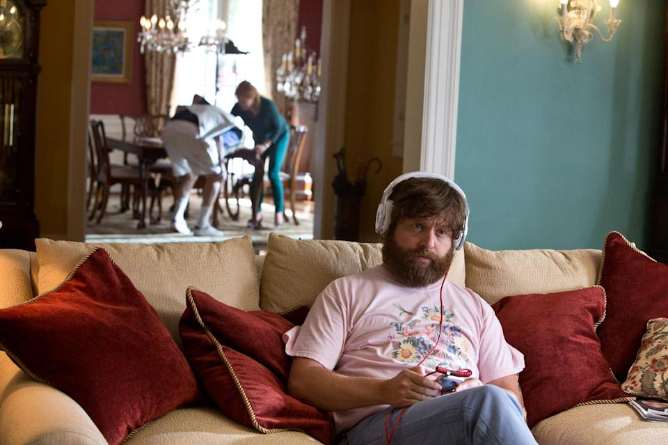 "This film image released by Warner Bros. Pictures shows Zach Galifianakis  in a scene from ""The Hangover Part III."" (AP Photo/Warner Bros. Pictures, Melinda Sue Gordon)"