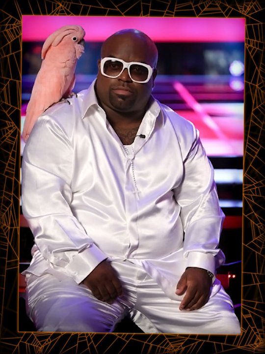Cee Lo from the Voice w/ his …