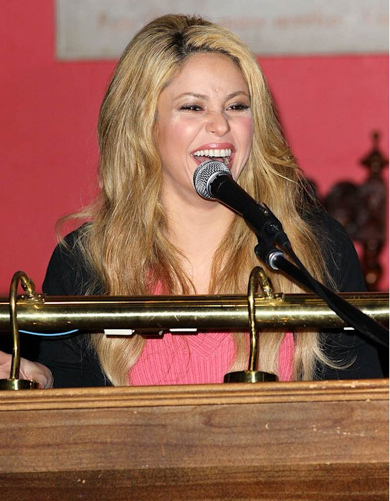 Shakira Oxford Speech