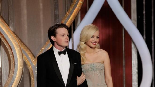 Sam Fox and Francesca Eastwood at the Golden Globes: Back off, Taylor Swift.