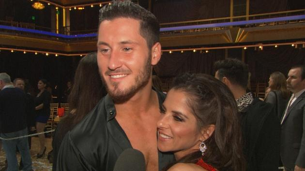 Kelly Monaco and Valentin Chmerkovskiy chat with Access Hollywood on November 27, 2012 -- Access Hollywood