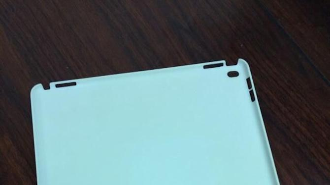New leak my reveal the first case for Apple's biggest iPad yet