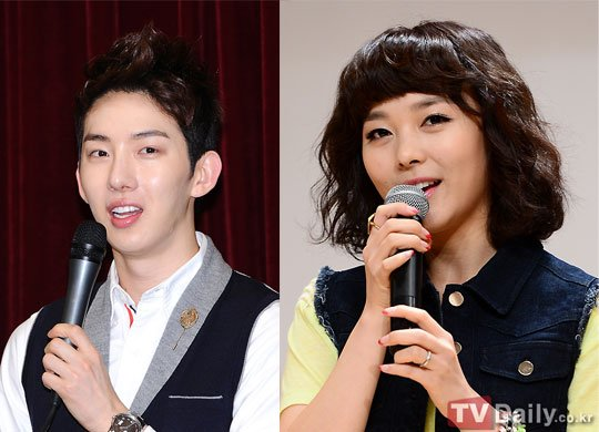 Jo Kwon and Sun Ye