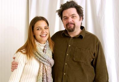 Katie Holmes and Oliver Platt Pieces of April Sundance Film Festival 1/19/2003