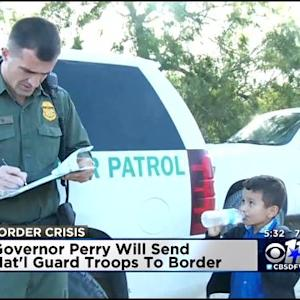 Gov. Perry To Announce Deployment Of Troops To Border