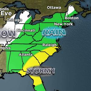 Weather Forecast: Severe weather threatens holiday travel
