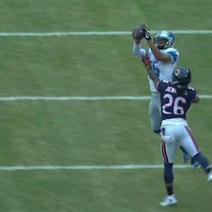 Detroit Lions wide receiver Golden Tate impressive catch for a 34-yard pass
